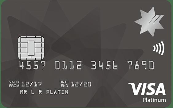 NAB Low Rate Platinum Credit Card