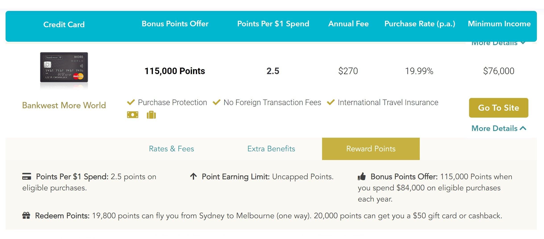 rewards-credit-card-search-australia-kredmo-website